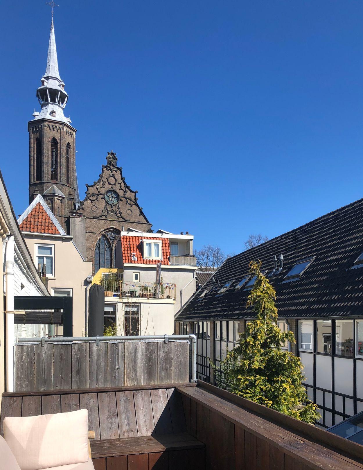Utrecht centrum uitzicht