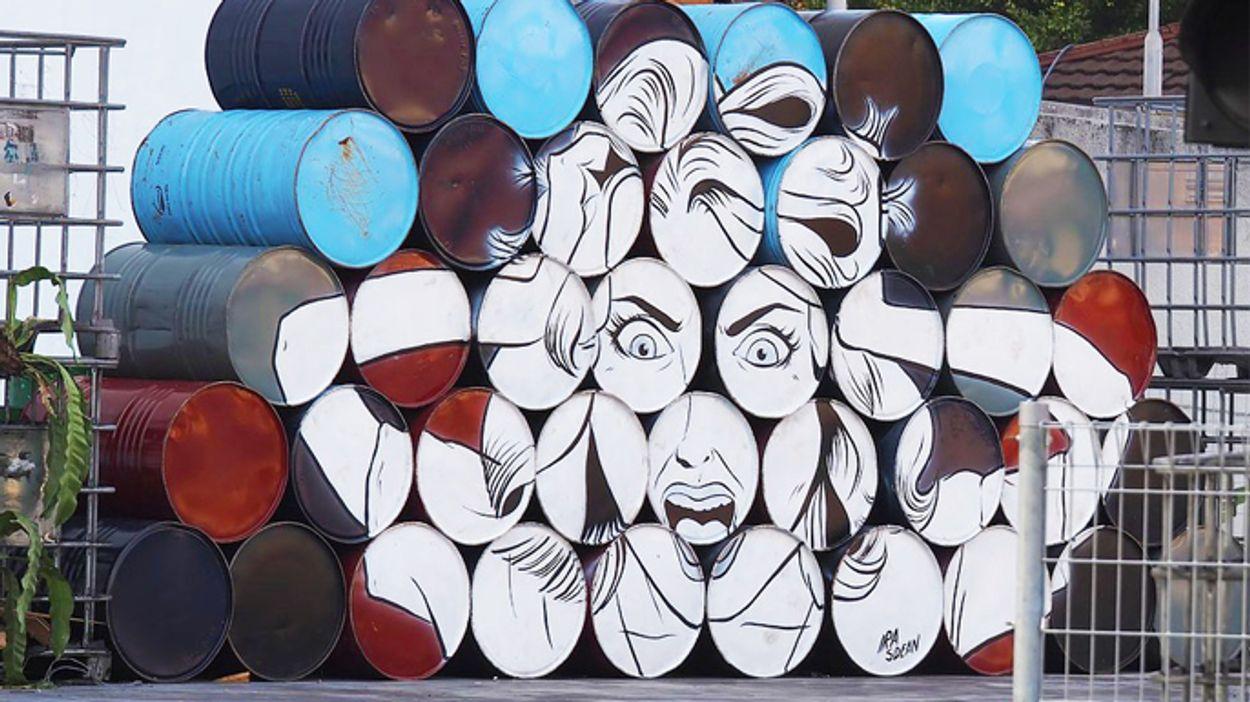 Afbeelding van De impact van street art op het Poolse Łódź