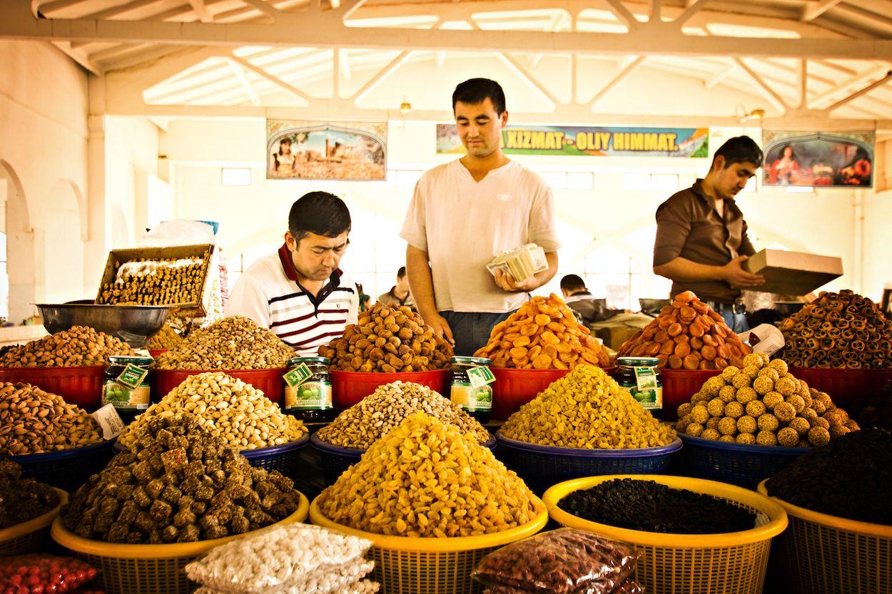 chorsu bazaar oezbekistan