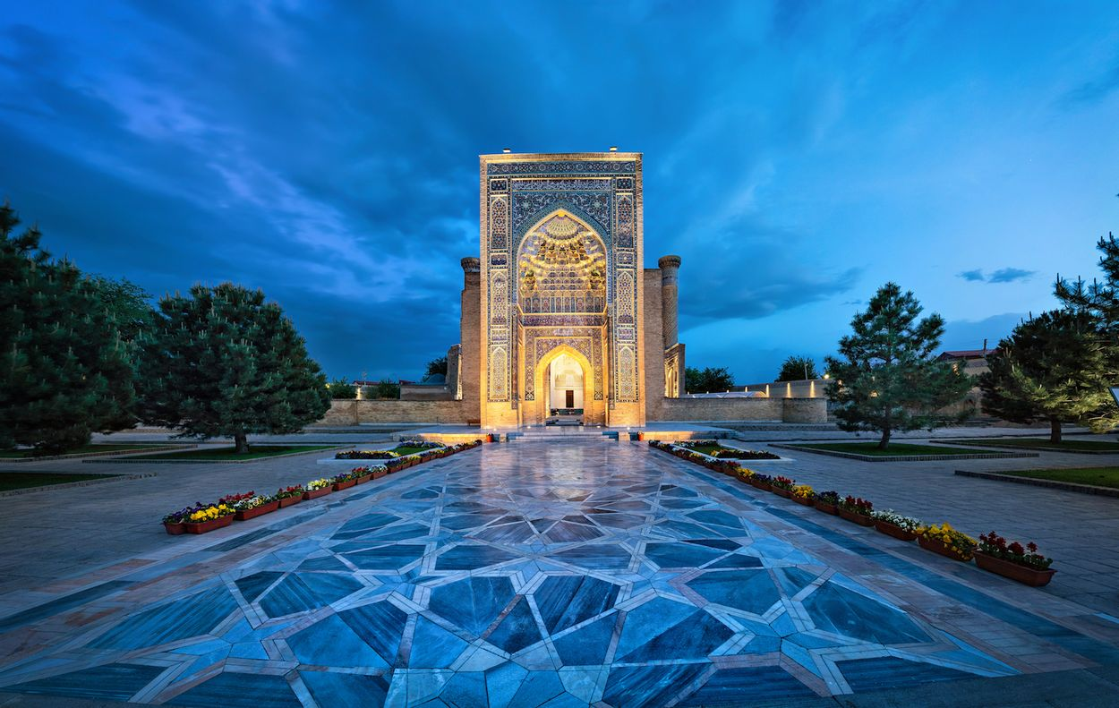 Samarkand plein