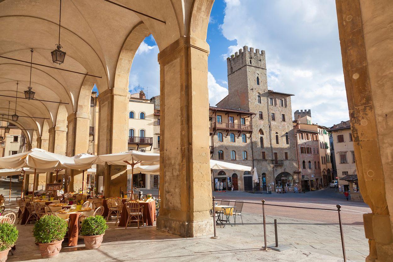 arezzo italie toscane