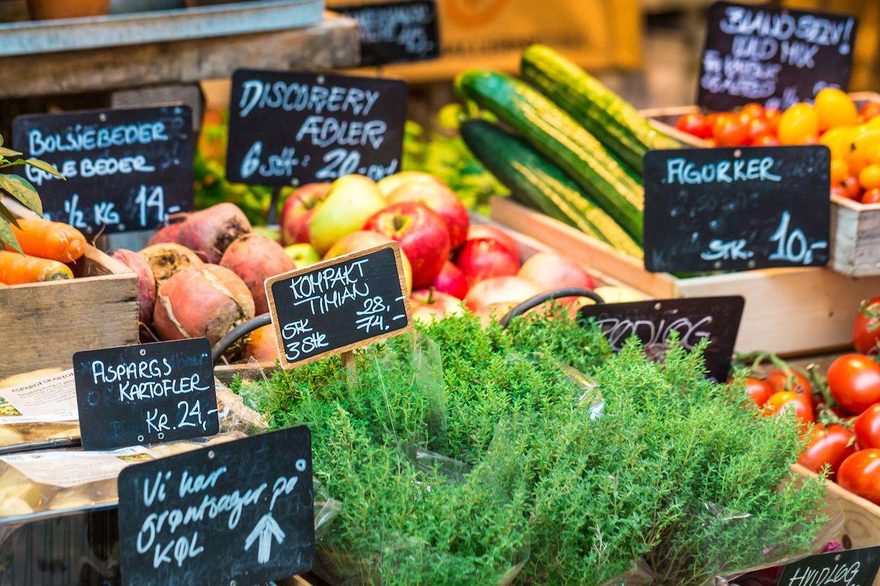 denemarken biologisch voedsel