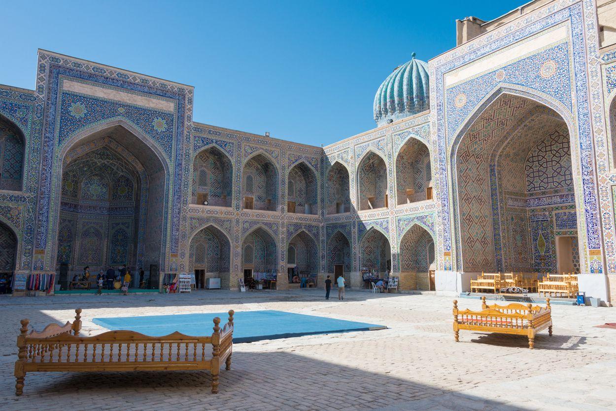 Samarkand binnenplein