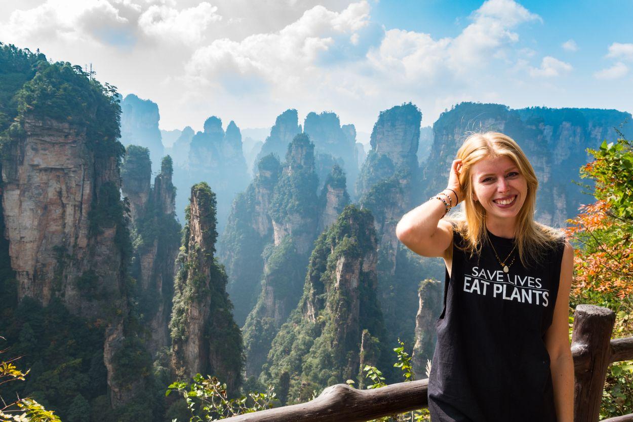 Afbeelding van Veganist Thera reist tien maanden de wereld rond