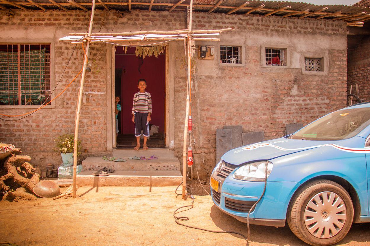 Wiebe auto opladen India