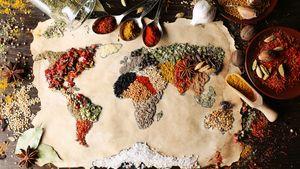 Afbeelding van Quarantaine-cuisine: wereldse recepten van houdbare producten