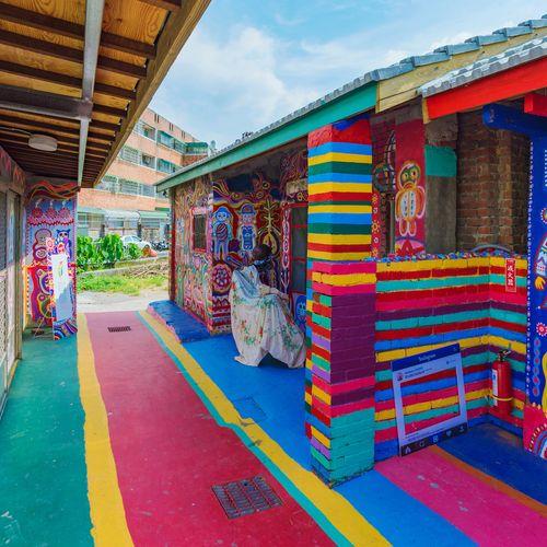 Afbeelding van Dit dorp is een levensgroot canvas voor zijn enige bewoner