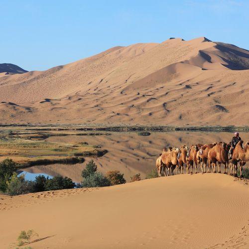 Afbeelding van Badain Jaran woestijn