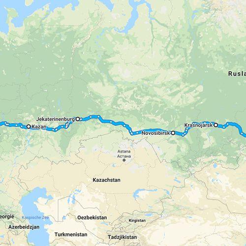 Afbeelding van De Trans-Siberië express: Een treinreis voor je bucketlist