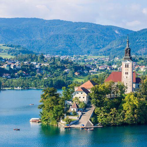 Afbeelding van Een ode aan het iconische eilandje middenin meer Bled