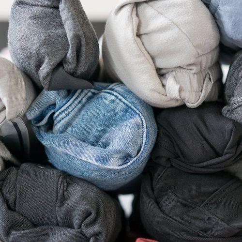 Afbeelding van Inpakhack: Rol jij je kleren op? Waarschijnlijk doe je het alsnog fout!